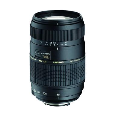 Tamron AF 70-300mm F/4-5.6 Di LD MACRO 1:2 SLR Obiettivo tele-zoom Nero