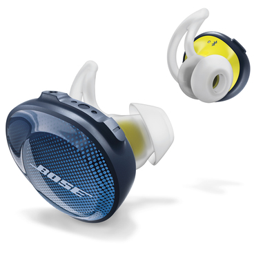 Bose SoundSport Free Blu, Bianco, Giallo Intraurale Auricolare