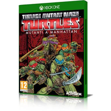 Teenage mutant ninja turtles: mutanti a Manhattan - Xbox One