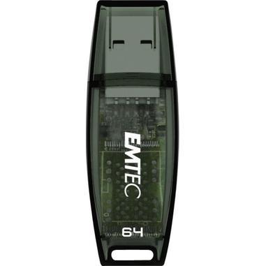 Emtec C410 64GB 64GB USB 3.0 (3.1 Gen 1) Numero di grucce Nero unità flash USB