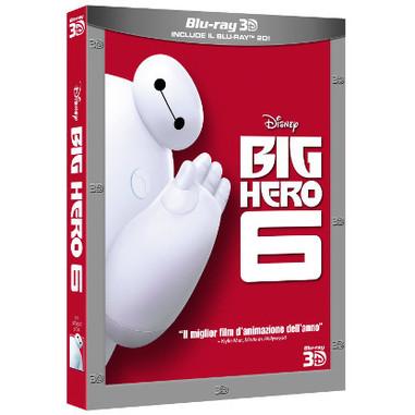 BIG HERO 6 - Blu Ray 3D + 2D
