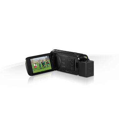 Canon LEGRIA HF R76 Videocamera palmare 3.28MP CMOS Full HD Nero + custodia + scheda SD da 8 GB