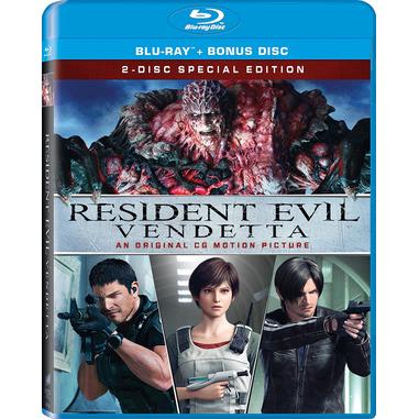 Resident Evil: Vendetta, Blu-Ray Blu-ray 2D ITA