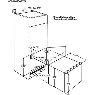 Electrolux EUN0600AOW congelatore