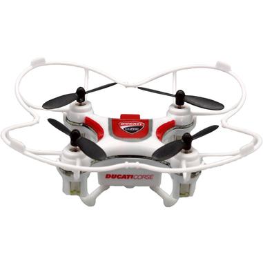 Ducati Corse Dromocopter  4rotori 120mAh Bianco drone fotocamera