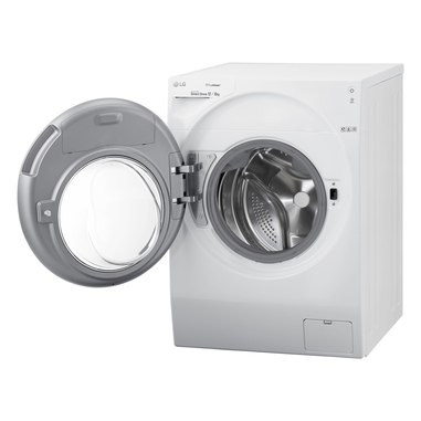 LG TWINWash Libera installazione Carica frontale 12/8kg 1400Giri/min A FH6G1BCH2N + Mini Wash F8K5XN3 2 kg