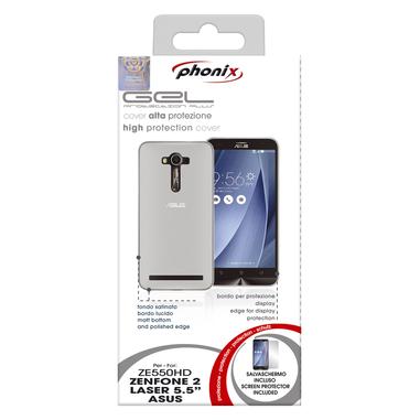Phonix Custodia gel per Asus Zenfone 2 Laser 5