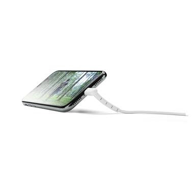 Cellularline Vista Cable - Lightning Cavo USB con funzione supporto Bianco