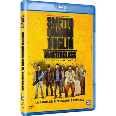 Smetto Quando Voglio - Masterclass (Blu-ray)