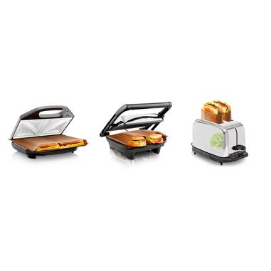 Tescoma Sacchetti Antiaderenti Salva Toast, 2 + 1 pz Delicia Gold