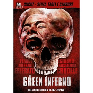 The Green Inferno (uncut standard edition) (DVD)