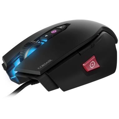 Corsair M65 PRO RGB USB Ottico 12000DPI Mano destra Nero mouse
