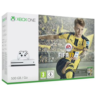 Microsoft 500GB Xbox One S + FIFA 17