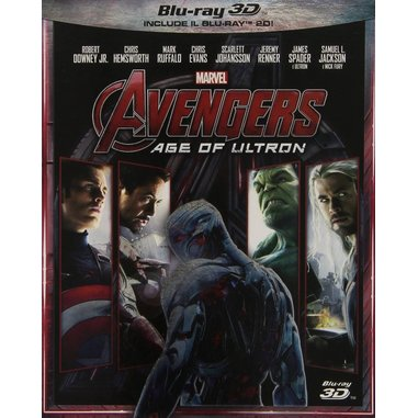 Avengers - Age of Ultron (3D) (Blu-ray)