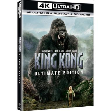 King Kong, 4K Blu-Rray Blu-ray 2D ITA