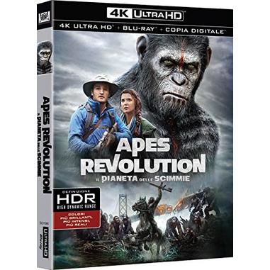 Apes Revolution - Il Pianeta Delle Scimmie (Blu-ray 4K)