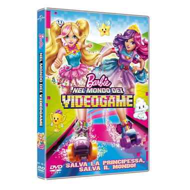 Barbie nel mondo dei videogame (DVD)