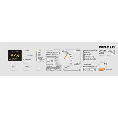 Miele W 675 LW Libera installazione Caricamento dall'alto 6kg 1100Giri/min A+ Bianco lavatrice