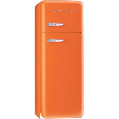 Smeg FAB30LO1 Libera installazione 293L A++ Arancione frigorifero con congelatore