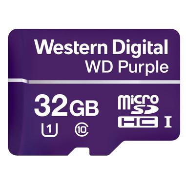 Western Digital Purple memoria flash 32 GB MicroSDHC Class 10