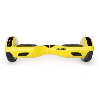 Nilox 30NXBK65D2N03 10km/h 4300mAh Nero, Giallo hoverboard