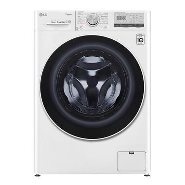 LG F4WV408S0E lavatrice Libera installazione Caricamento frontale Bianco 8 kg 1360 Giri/min A+++-40%
