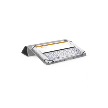 """Cellularline Click Case - Tablet fino a 10.5"""" Custodia universale con retro pieghevole Nero"""