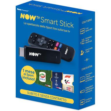 NOW TV Smart Stick con 1 mese di Sport incluso