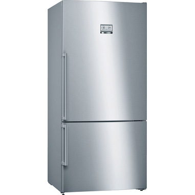 Bosch Serie 6 KGN86AI4P frigorifero con congelatore Libera installazione Acciaio inossidabile 619 L A+++