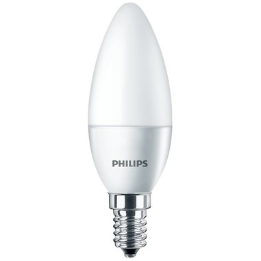 Philips Lampadina LED, Attacco E14, 4W equivalente a 25W