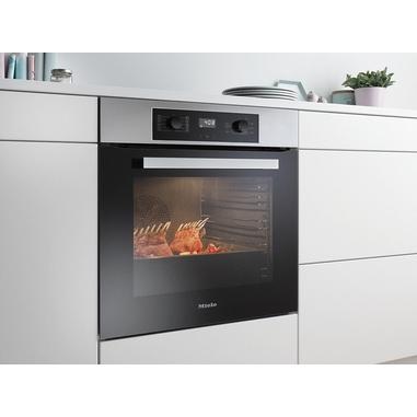 Miele h 2266 b forno elettrico 76l 3500w a nero acciaio inossidabile forno forni da incasso - Forno ad incasso miele ...