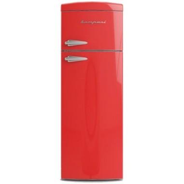 Bompani BODP266/R Libera installazione 311L A+ Rosso frigorifero con congelatore