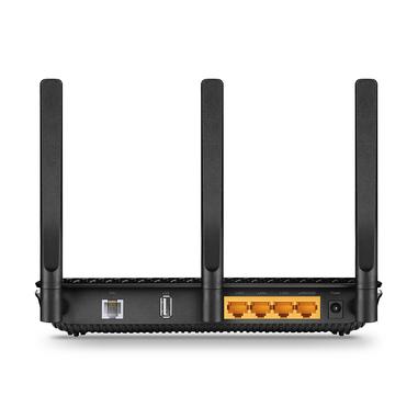 TP-LINK Archer VR600 router wireless Dual-band (2.4 GHz/5 GHz) Gigabit Ethernet 3G 4G Nero, Argento