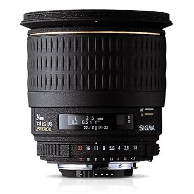 Sigma 24mm F1.8 EX DG ASP Macro Nero
