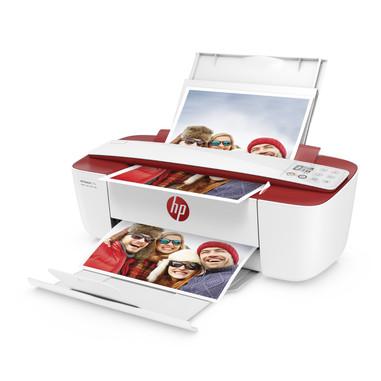HP DeskJet 3732 AiO Getto termico d'inchiostro A4 Wi-Fi Blu, rossa