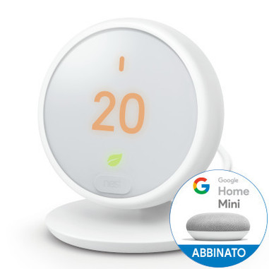 Nest Thermostat E termostato WLAN Bianco
