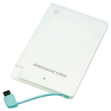 Mediacom SOS Power Bank 2500 Flat