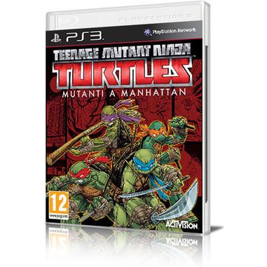 Teenage mutant ninja turtles: mutanti a Manhattan - PS3