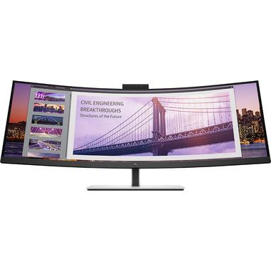 """HP S430c 110,2 cm (43.4"""") 3840 x 1200 Pixel WUXGA LED Nero, Argento"""