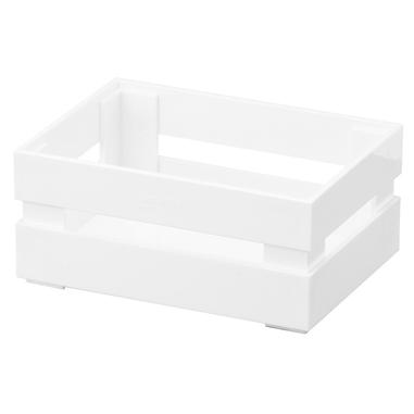 Fratelli Guzzini 16990011 scatola di conservazione Armadietto portaoggetti Bianco Rettangolare Stirene Acrilonitrile (SAN)