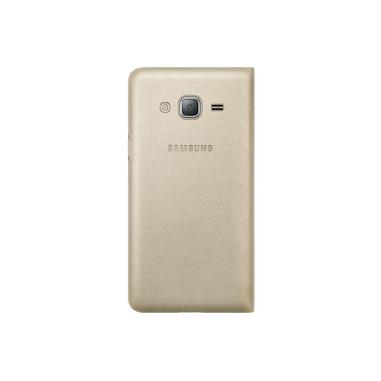 Samsung EF-WJ320P Flip Oro per Galaxy J3
