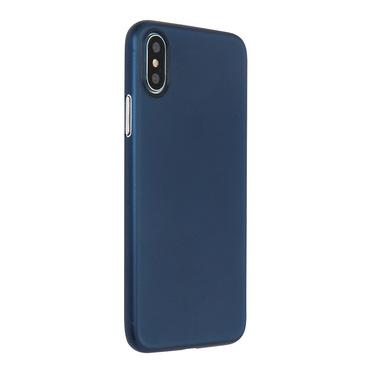 Phonix Custodia Perfect Fit per Apple iPhone X - Blu Marino