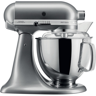 KitchenAid 5KSM175PSECU robot da cucina 4,8 L Nero, Onice 300 W