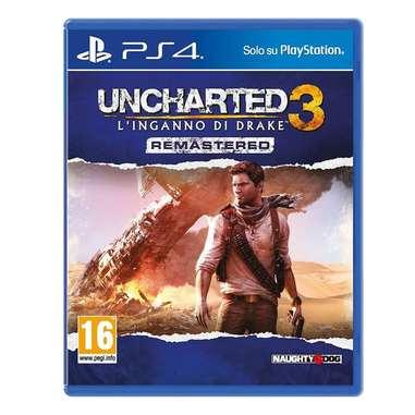 Uncharted 3: l'inganno di Drake - rimasterizzato - PS4