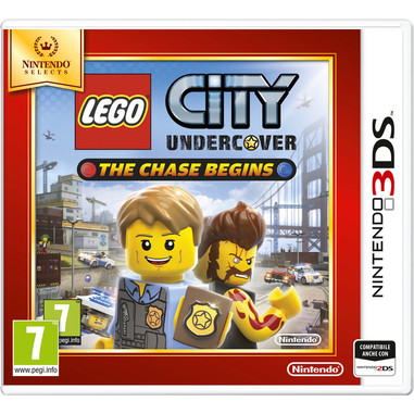 Nintendo Lego City Undercover: The Chase Begins, 3DS Selects