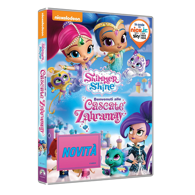 Shimmer and Shine: Benvenuti alle Cascate Zahramay (DVD)