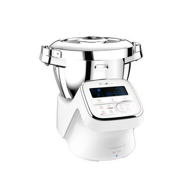 Moulinex HF809 I-Companion XL Gourmet, Robot da cucina multifunzione, 12 programmi automatici, 6 accessori dedicati, capacità di 3 L, trita, prepara, impasta e cuoce. Ricette illimitate per tutta la famiglia