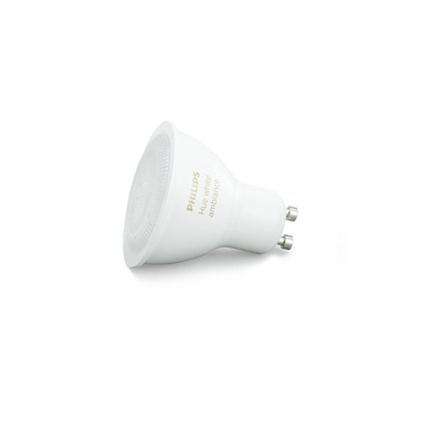 Philips Hue White Ambiance Faretto LED, Attacco GU10