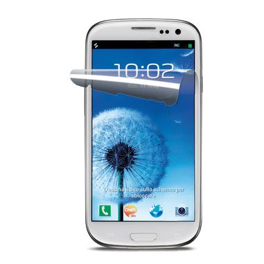 Cellularline Ok Display Invisible - Galaxy S3 Neo /S3 Pellicola protettiva ultra trasparente e facile da applicare Trasparente