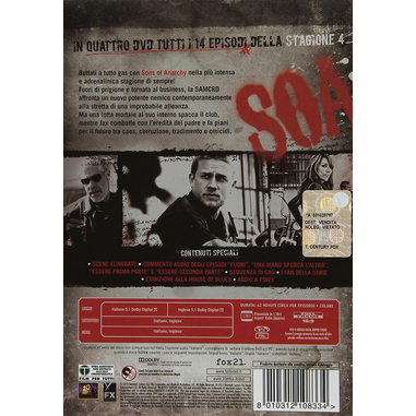Sons of Anarchy - Stagione 4 (DVD)